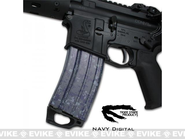 z US NightVision Mag Wraps™ Rapid Wraps - Tiger Stripe: Navy
