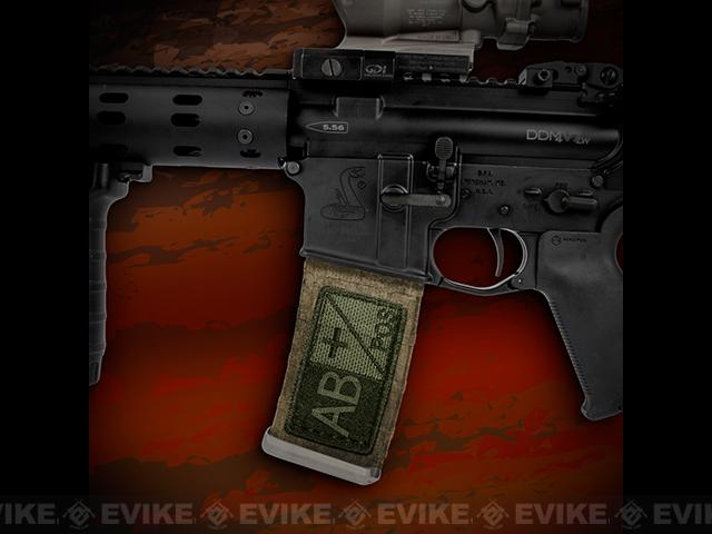 US NightVision Mag Wraps™ Rapid Wraps - Blood Type: AB Pos