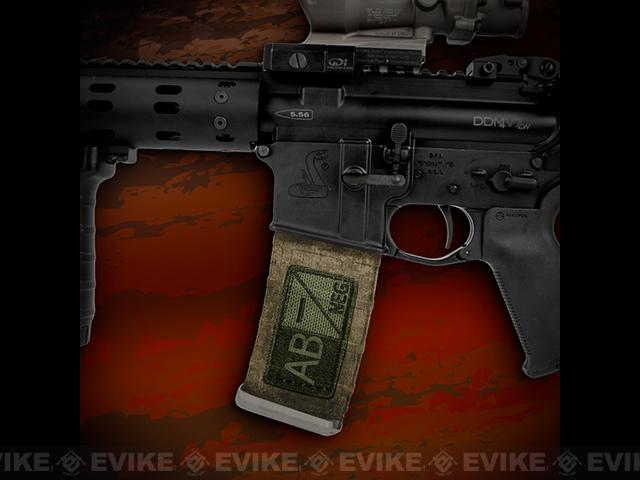 US NightVision Mag Wraps™ Rapid Wraps - Blood Type: AB Neg