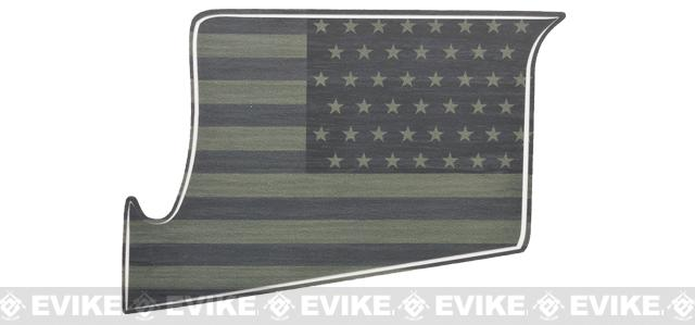 US NightVision Rapid Wraps™ Magwell Slaps - US Flag (Color: OD Green)