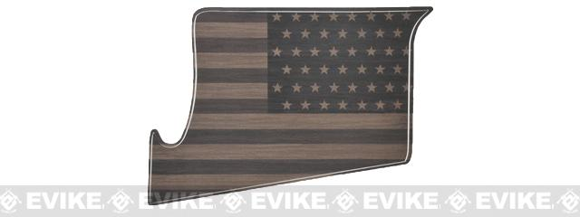US NightVision Rapid Wraps™ Magwell Slaps - US Flag (Color: Flat Dark Earth)