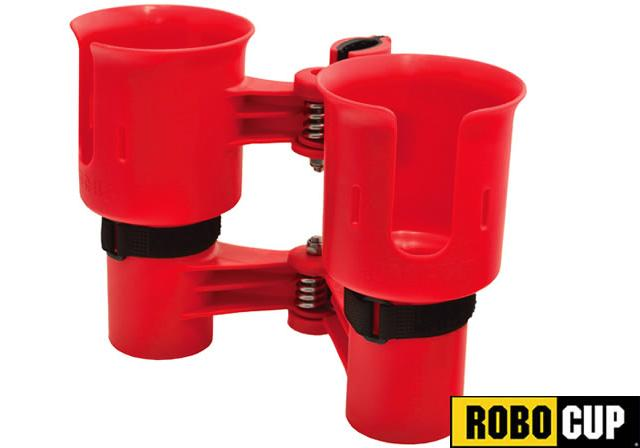 The RoboCup Portable Beverage Caddy (Color: Red)