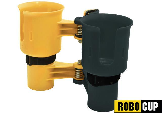 The RoboCup Portable Beverage Caddy (Color: Green Yellow)