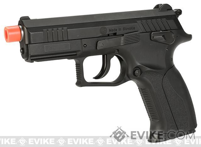 WinGun Licensed Grand Power P1 MK7 CO2 Non-Blowback Pistol with Metal Slide