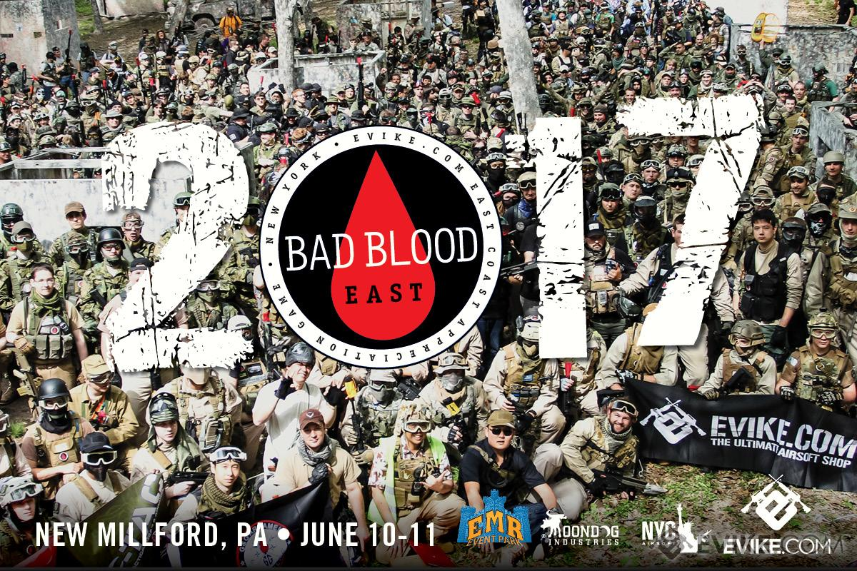 Operation Bad Blood East 2017 Registration - 6/10-6/11 New Millford, Pennsylvania (Force: Black Shirts)