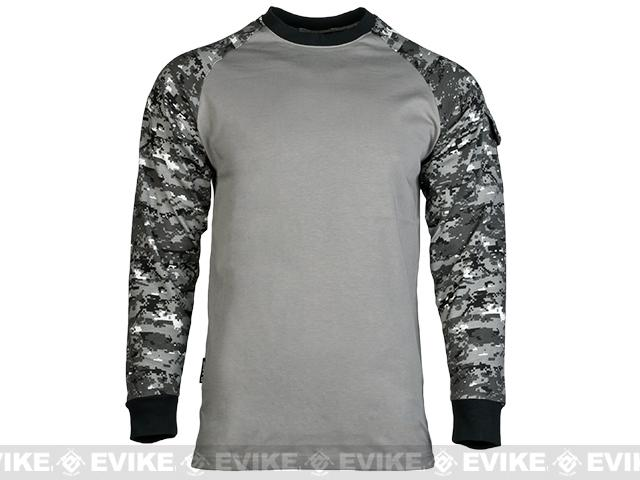 Cast Gear Tactical Combat T-Shirt - Digital Urban (Size: Small)