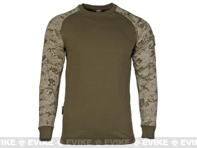 Cast Gear Tactical Combat T-Shirt - Desert Digital (Size: Large)