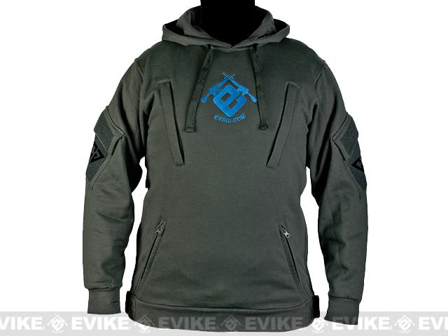 CAST Gear Evike.com Exclusive Tactical Pullover Hoodie - Grey (Size: Medium)