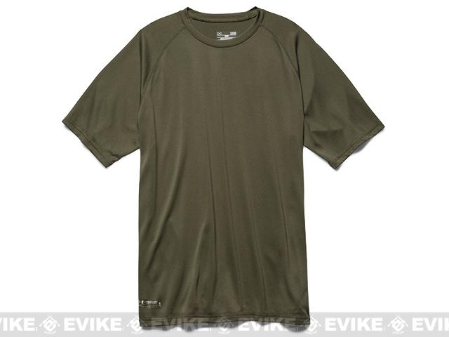 Under Armour Mens UA Tactical Tech™ Short Sleeve T-Shirt - OD Green (Small)