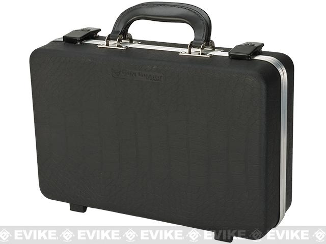 Plano DLX Two Pistol Case - Black