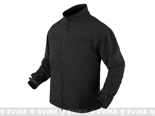 Condor Covert Softshell Jacket - Black (Size: Medium)