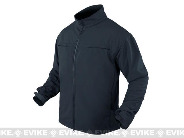 Condor Covert Softshell Jacket - Navy Blue (Size: Large)