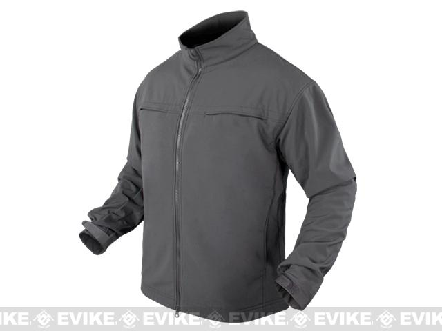 Condor Covert Softshell Jacket - Graphite (Size: Large)