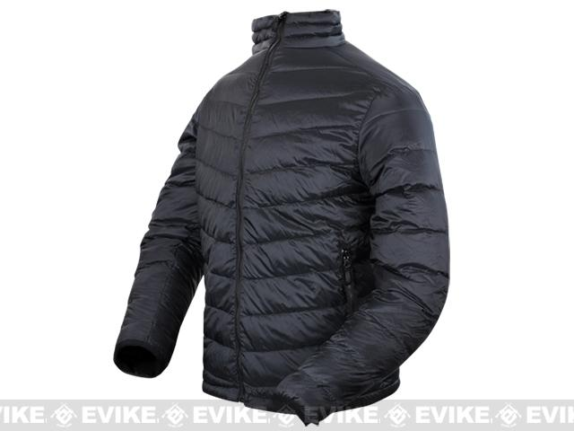 z Condor Zephyr Lightweight Down Jacket - Black (Size: X-Large)