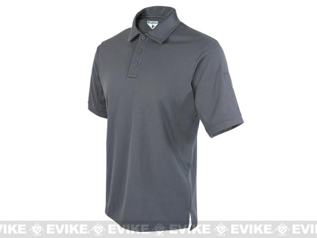 Condor Performance Tactical Polo - Graphite (Size: Large)