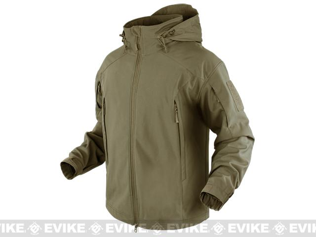Condor Element Soft Shell Jacket - Tan (Size: X-Large)
