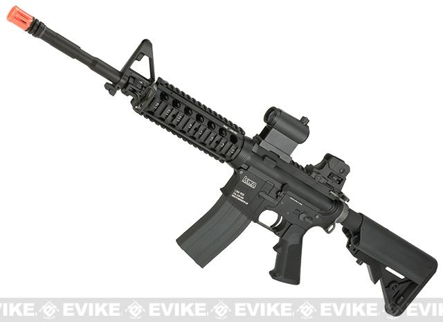 KWA Full Metal PTR LM4 Airsoft Gas Blowback Rifle w/ RIS Handguard