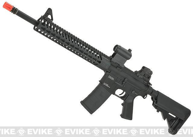 KWA Full Metal KR12 / M4 Airsoft AEG Rifle with 12  KeyMod Handguard