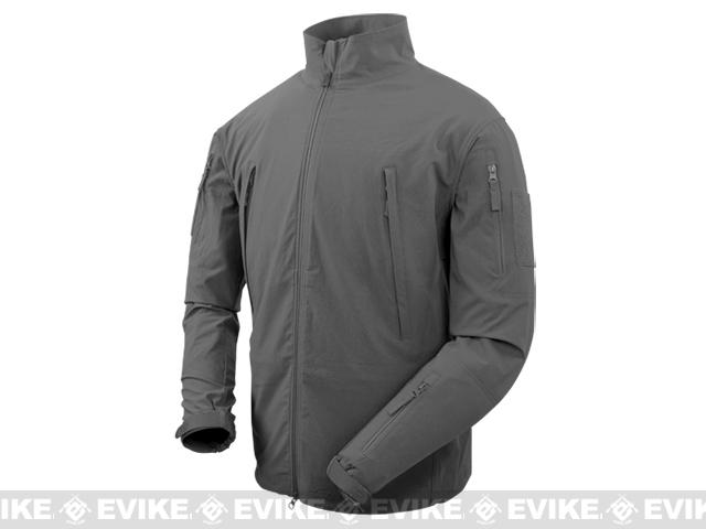 Condor Vapor Ripstop Windbreaker Jacket - Graphite (Size: Medium)