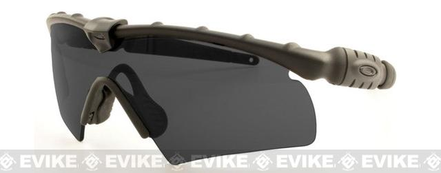 Oakley S.I.  Ballistic M-Frame 2.0 Hybrid- Black with  Grey Lense