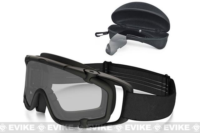 Oakley Full Seal Ballistic Goggle ARRAY - Matte Black w  Clear ... 99e75fa3b2f