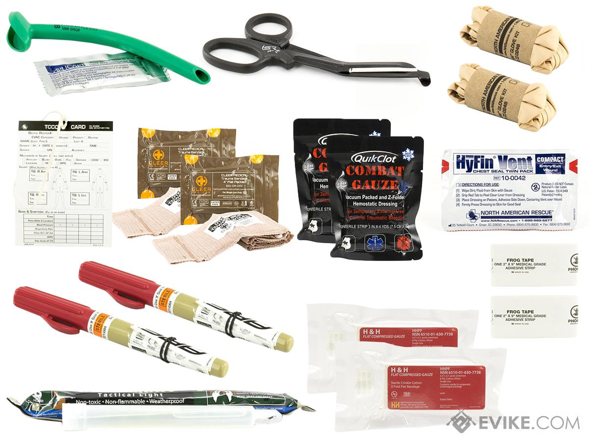 Eleven-10 TEMS Refill Medical Kit with QuickClot