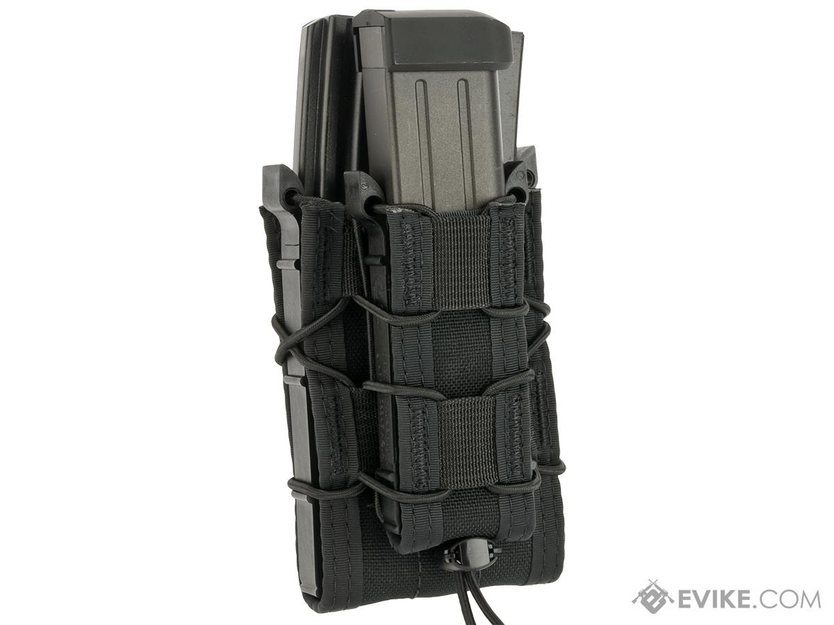 HSGI Double Decker TACO® Modular Single Rifle and Pistol Magazine Pouch - Black
