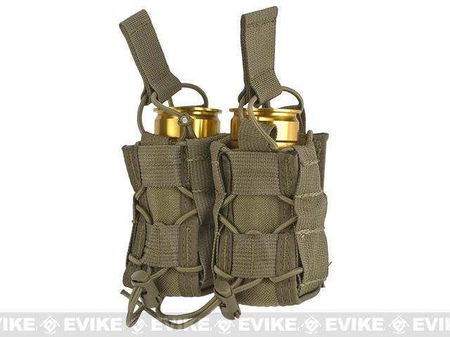 High Speed Gear HSGI TACO Double 40mm Grenade MOLLE Pouch - Coyote Brown