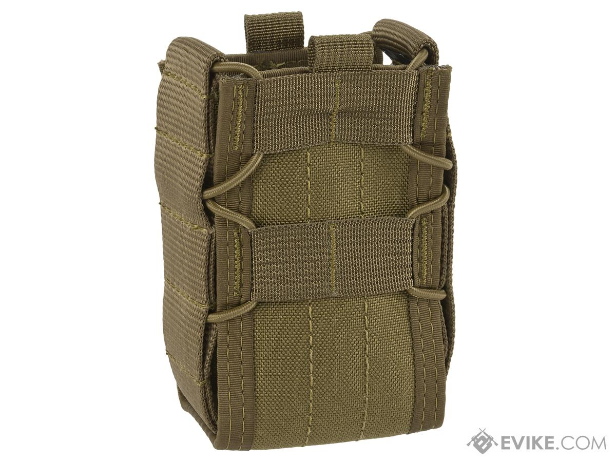 High Speed Gear HSGI TACO Single Stun Gun MOLLE Pouch - Coyote Brown