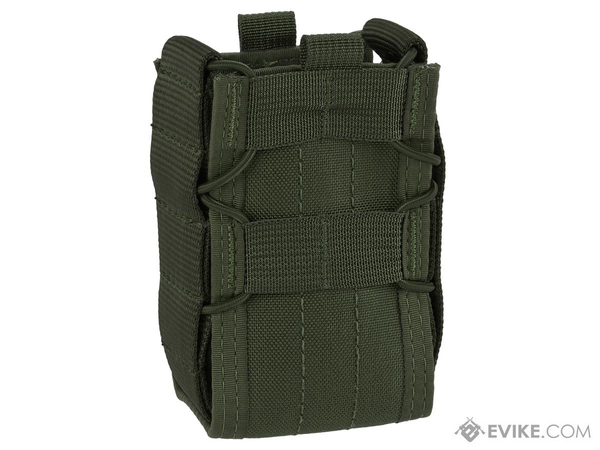 High Speed Gear HSGI TACO Single Stun Gun MOLLE Pouch - OD Green