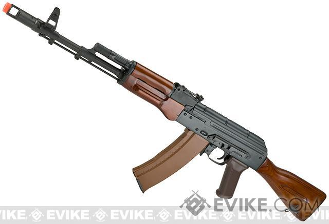 E&L Spartan Special Edition AK-74N Full Metal Real Steel Grade Airsoft AEG with Real Wood Furniture