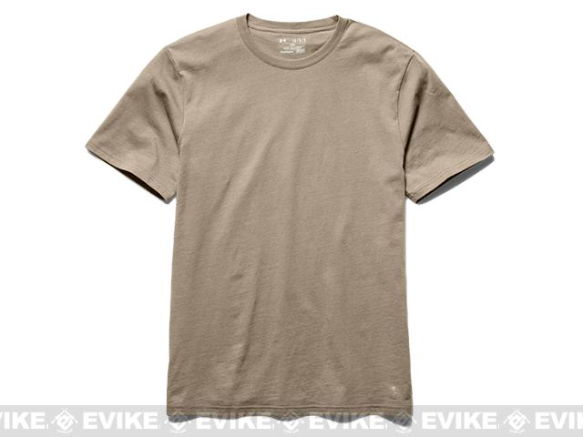 Under Armour Men's UA Tactical Charged Cotton® T-Shirt - Desert Sand (Large)