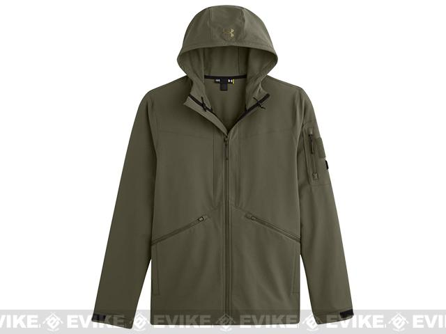 Under Armour Men s UA Storm Tactical Woven Jacket - Marine OD Green ... d535b904126