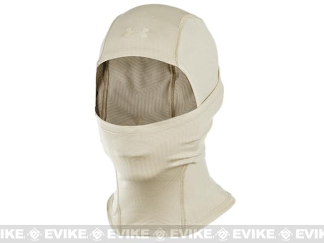 Under Armour Men's ColdGear Infrared Tactical Hood / Balaclava (Color: Desert Sand)