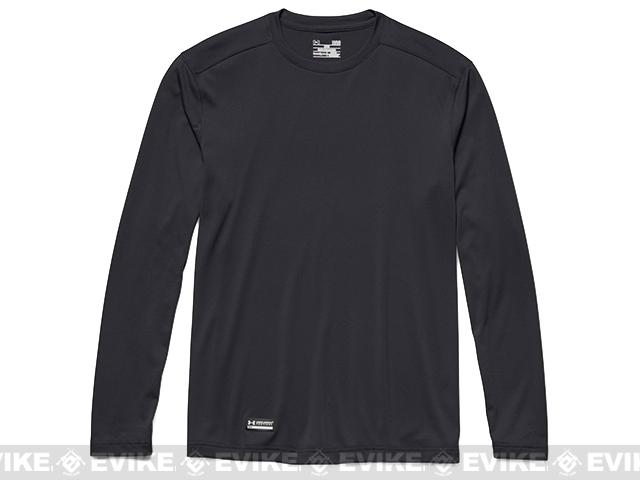 Under Armour Men's Tactical UA Tech™ Long Sleeve T-Shirt - Black (Large)