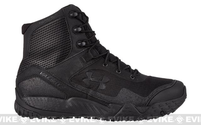 Under Armour Men's UA Valsetz RTS Tactical Boots - Black (Size: 8.5)