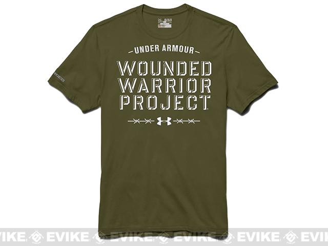 4b88a9a9 z Under Armour Men's UA WWP Barbed Wire T-Shirt - Major (Large ...