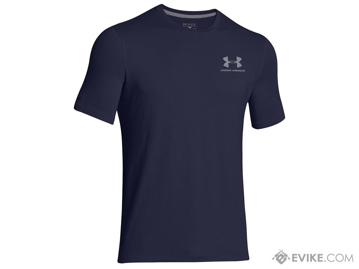 Under Armour UA Charged Cotton® Sportstyle - Midnight Navy (Size: Large)