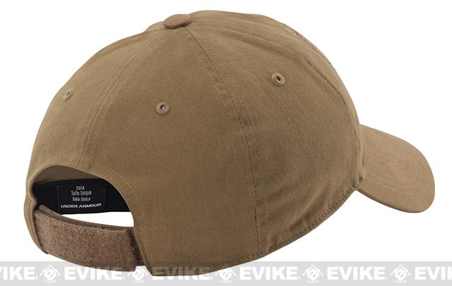 8c4cf5af618 Under Armour Men s UA Tactical Patch Cap - Coyote Brown. Hover or touch  above to zoom. Youtube preview Product image 1 Product image 2
