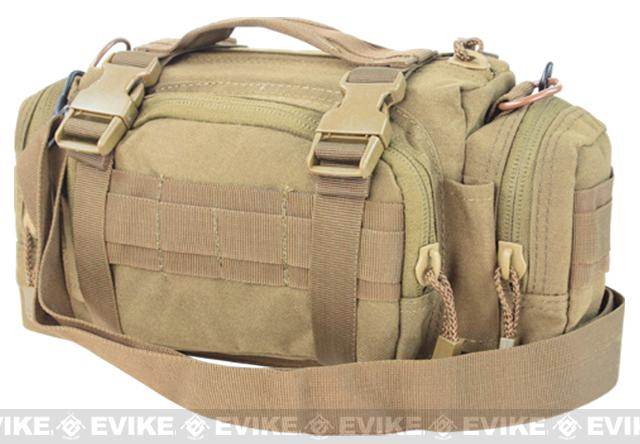 Condor Tactical MOLLE Modular Accessory MOLLE Pouch / Deployment Bag (Color: Tan)