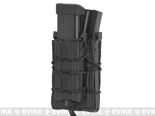 HSGI Double Decker TACO® Modular Single Rifle and Pistol Magazine Pouch Belt Mounted - Black