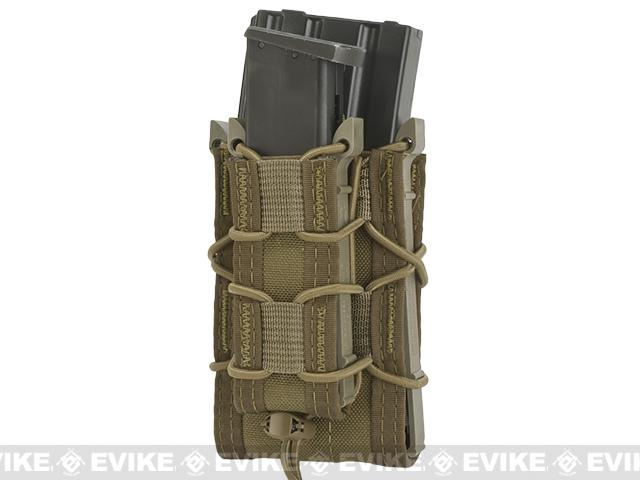 HSGI Double Decker TACO® Modular Single Rifle and Pistol Magazine Pouch Belt Mounted - Coyote Brown