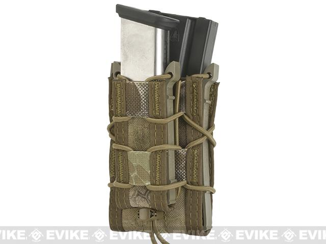 HSGI Double Decker TACO® Modular Single Rifle and Pistol Magazine Pouch Belt Mounted - Kryptec Highlander