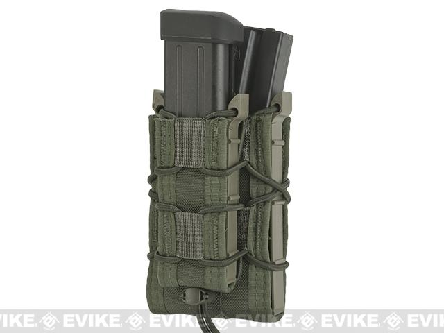 HSGI Double Decker TACO® Modular Single Rifle and Pistol Magazine Pouch Belt Mounted - OD Green