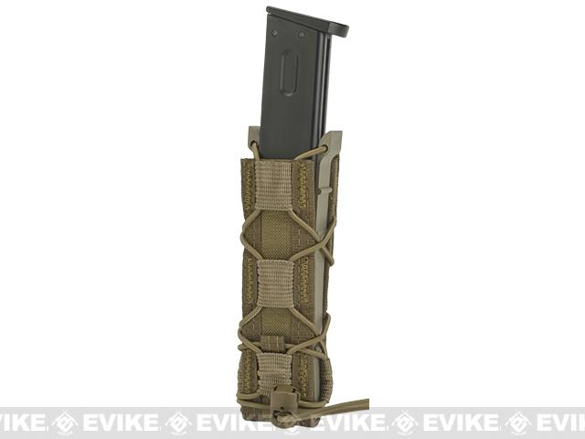 HSGI Extended Pistol TACO® Modular High Capacity Pistol Magazine Pouch Belt Mounted - Coyote Brown