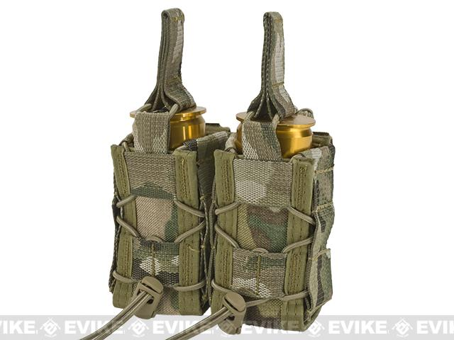 High Speed Gear HSGI TACO Double 40mm Grenade Belt Mounted Pouch - Multicam