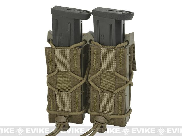 HSGI Double Pistol TACO® Modular Single Pistol Magazine Belt Mounted Pouch - Coyote
