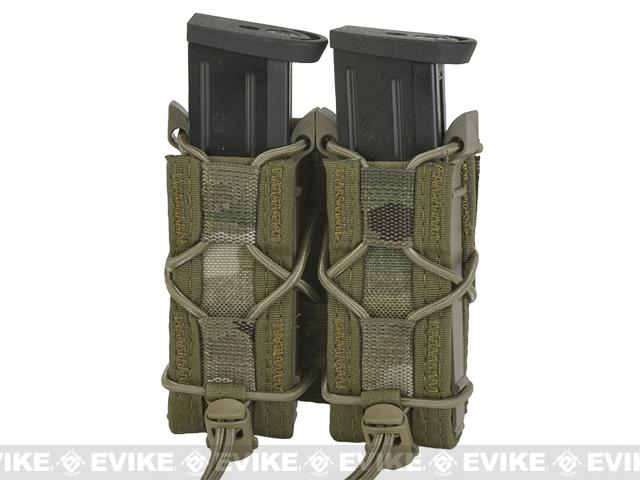 HSGI Double Pistol TACO® Modular Single Pistol Magazine Belt Mounted Pouch - Multicam