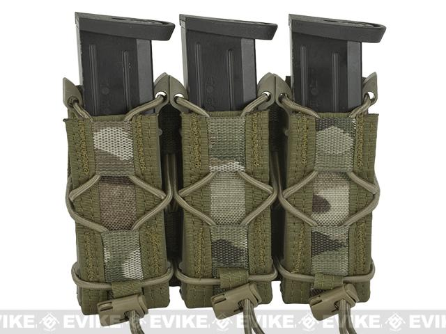 HSGI Triple Pistol TACO® Modular Single Pistol Magazine Belt Mounted Pouch - Multicam