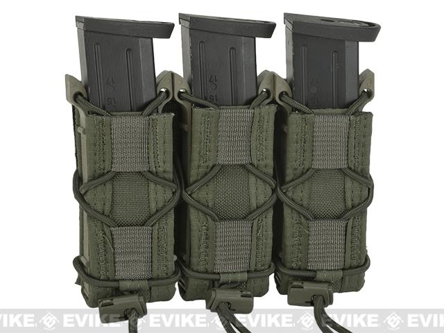 HSGI Triple Pistol TACO® Modular Single Pistol Magazine Belt Mounted Pouch - OD Green